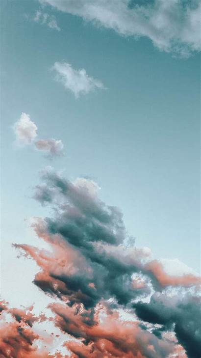 Iphone Wallpapers Cloudy Xr Preppy Fluffy Cloud