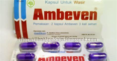 ambeven kapsul  wasir informasi obat obatan
