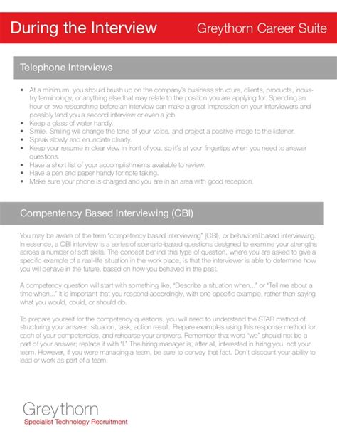 Tips For Resumes And Interviews by Greythorn Resume And Tips