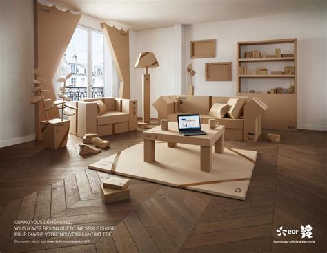 bureau edf edf inspiré par ikea fait sa pub avec des meubles en