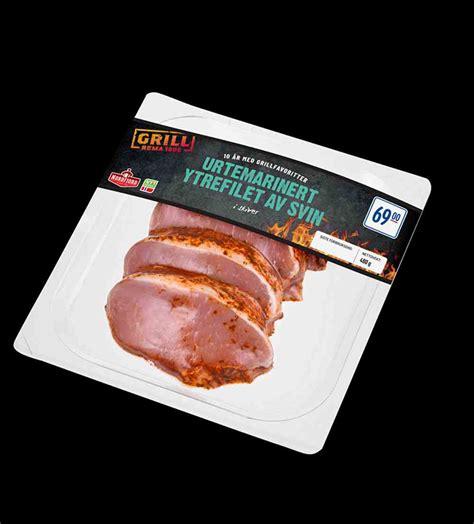 Nordfjord urtemarinert ytrefilet av svin med ...