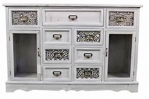Rangement Tiroir Bois : meuble bas rangement bois 9 tiroirs ~ Edinachiropracticcenter.com Idées de Décoration