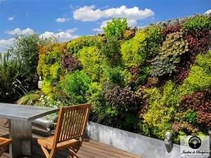 Mur Vegetal Exterieur : un mur v g tal paris du r ve la r alit jardins de ~ Melissatoandfro.com Idées de Décoration