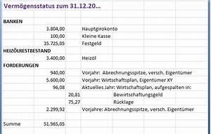 Was Ist Hausgeld : verm gensstatus ausweis der forderungen und ~ Lizthompson.info Haus und Dekorationen