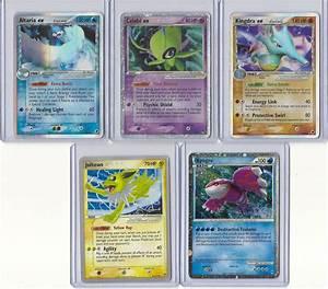 My ex and shiny pokemon cards by beanburrito26 on DeviantArt