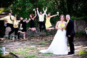 Unique Wedding Party Photography