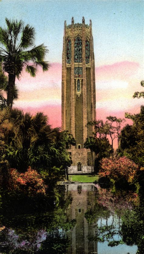 florida memory  singing tower lake wales florida