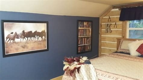 hometalk horse themed bedroom makeover