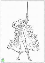 Coloring Barbie Musketeers Three Draw Muskateers Bulk Drawing Popular sketch template