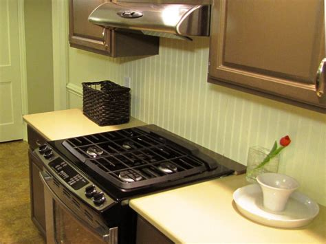 how to install a kitchen backsplash how to install a beadboard backsplash diy kitchen design