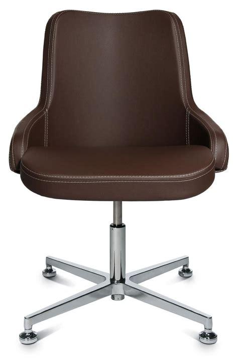 siege cuir siege cuir 4 pieds chromés design avec assise confortable