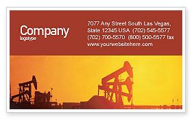 and gas business card templates well business card template layout well