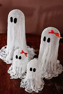 Halloween, Decorations, These, Floating, Ghosts, Are, So, Darn, Cute, And, Very, Easy, To, Make, Cheap, Also