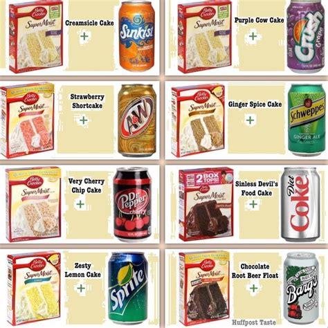 betty crocker cake mix  soda google search recipes