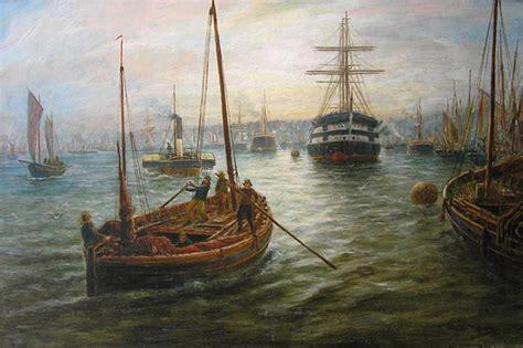 Bernard Benedict Hemy (18551913), Fishing Boats On The