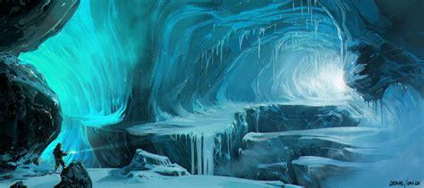 photo frozen path ice nature path