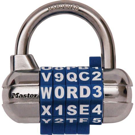 Master Lock Password Plus Combo Lock — Model# 1534d