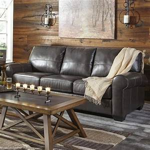 25 best ideas about ashley leather sofa on pinterest for Ashley leather sofa bed