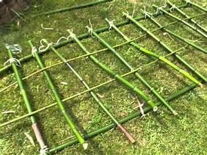 Tete De Lit Bambou : t te de lit en bambou youtube ~ Teatrodelosmanantiales.com Idées de Décoration