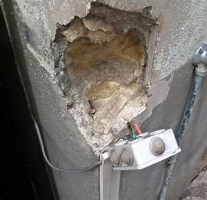 Reboucher Trou Mur Placo : reboucher trou mur exterieur excellent appliquez avec un ~ Melissatoandfro.com Idées de Décoration