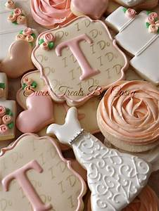 330 best wedding cookies images on pinterest cake With wedding shower sugar cookies