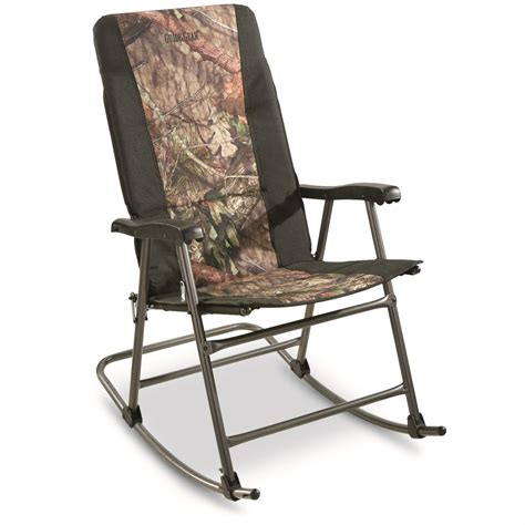 guide gear oversized rocking c chair 500 lb capacity