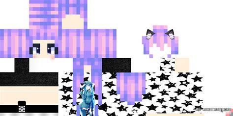 Скачать Hd скин Girl Cat 2 для Minecraft