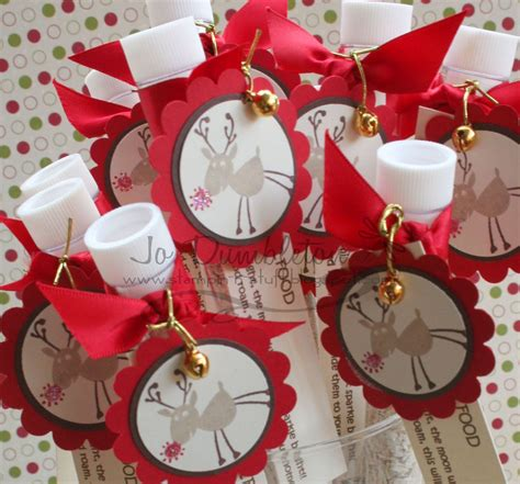 craft ideas  sell stampin  stuff magic reindeer