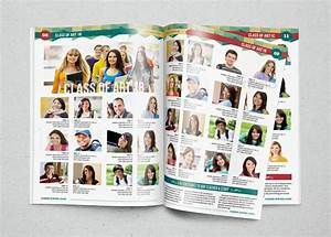 yearbook template design vol 1 by hiro27 graphicriver With powerpoint yearbook template