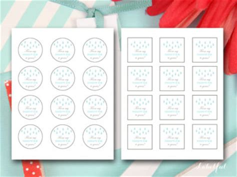 shower     favor tags magical