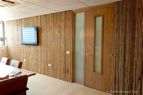Wall Cover : Bamboo Wall Cladding And Decoration Ideas
