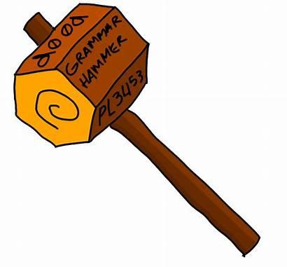 Hammer Grammar Clipart Clip Library Deviantart Stats