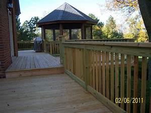 deck railings deck railing systems wood composite