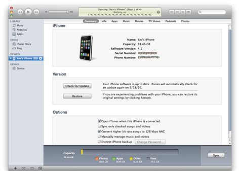 sync iphone to iphone new iphone itunes sync