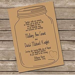 mason jar invitation diy printable invitation i like With free printable wedding invitations mason jars