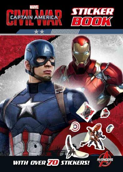 The Store - Marvel: Captain America: Civil War Sticker ...