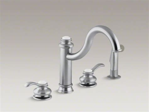 Kohler Fairfax(r) 4-hole Kitchen Sink Faucet With 9-3/8