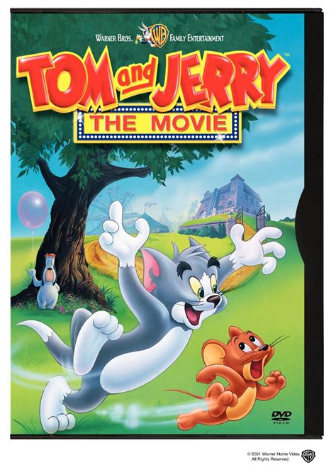 opening to tom and jerry the movie 2001 dvd warner home