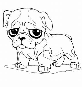 Free british bulldog coloring pages