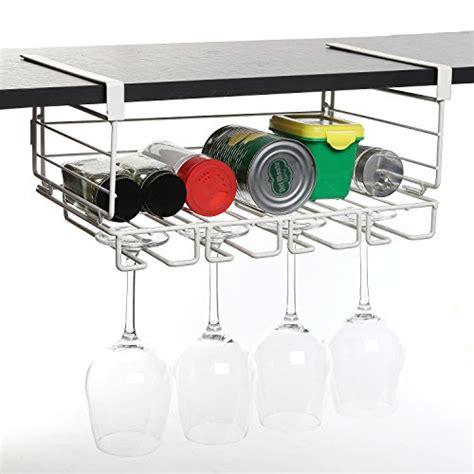 glass organizer kitchen modern white metal shelf hanging kitchen storage 1239