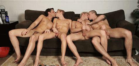 Gay Jerking Groupsex  S Animated Gay Penisparty Masturbation Sexy Men Kissing