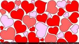 Valentine Hearts Wallpaper ·①