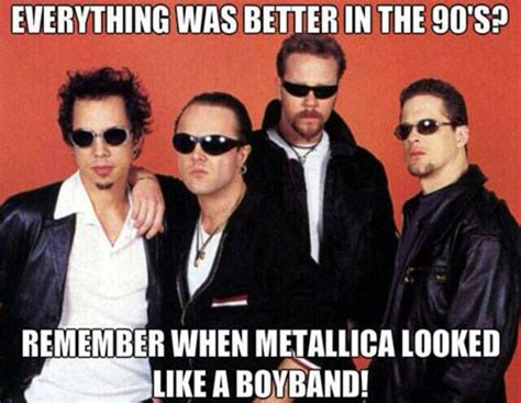 Boy Band Meme - metallica funny quotes quotesgram