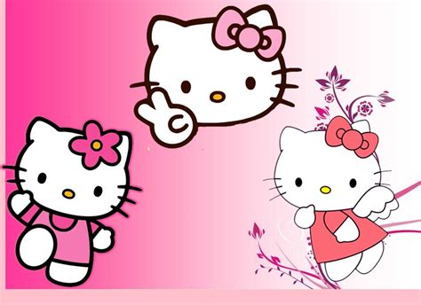 Gambar Hello Kitty Wallpaper WallpaperSafari