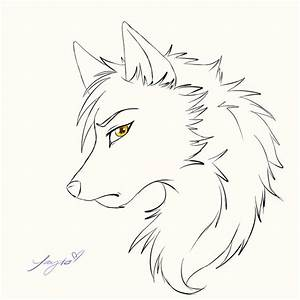Drawing Anime Wolves Anime Wolf Face How To Draw Anime ...