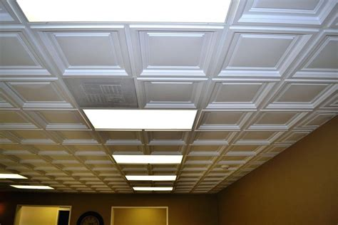 Drop Ceiling Images by How To Put Out For A 2x2 Ceiling Tiles The Wooden Houses