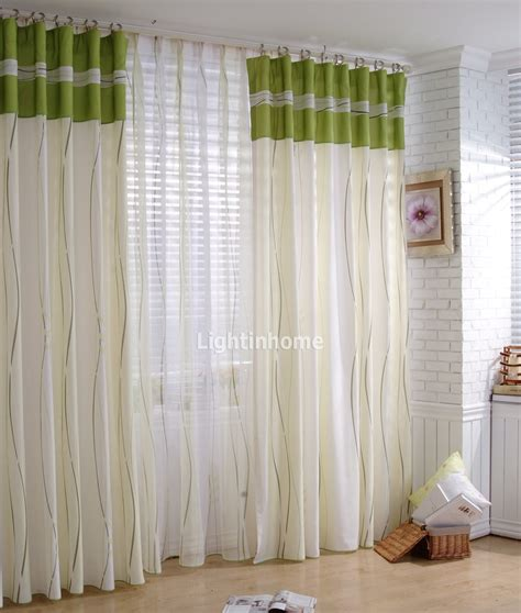 green and white striped curtains furniture ideas