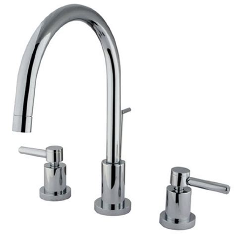 kingston brass ks8921dl 8 inch spout reach concord