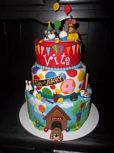 Vitas Tom And Jerry Cake - CakeCentral.com