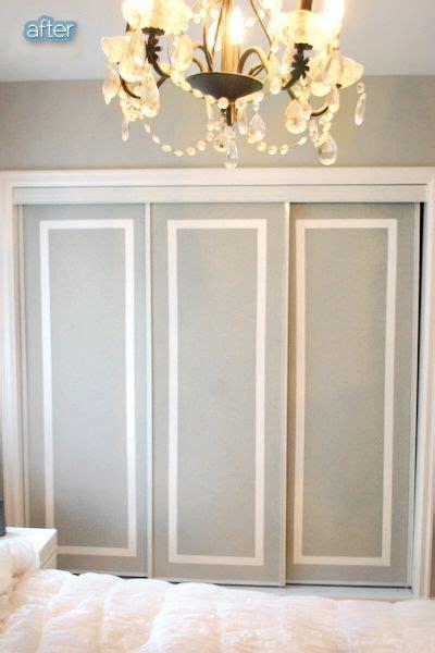 25 best ideas about closet door redo on